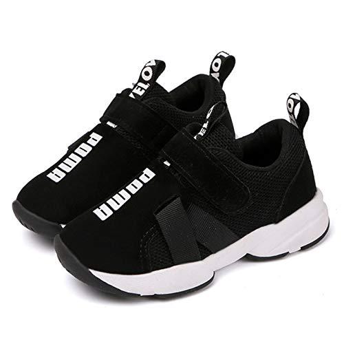 Daclay Chaussures/Sneakers/Baskets pour garçon ,26 EU,Noir