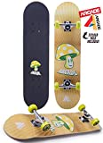 Arcade Pro Skateboard 31' Standard Complete Skateboards Professional Complete Board w/Concave - Skate Boards Great for Beginners,...