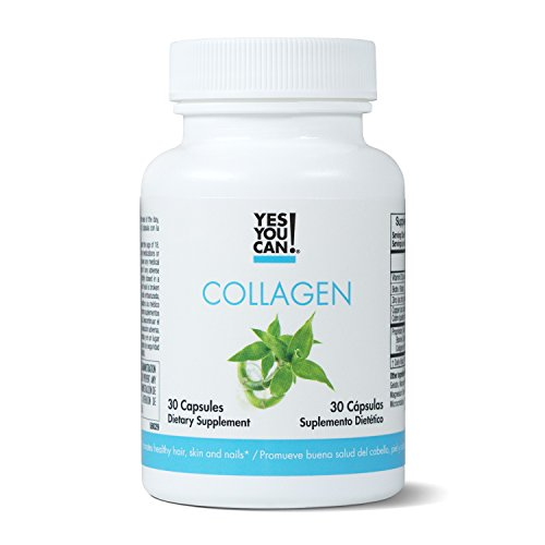 Yes You Can! Collagen - Supports Healthy Joints and Skin, Contains Biotin, Vitamin D3, Zinc, Copper and Silica - Col