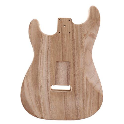 D DOLITY Madera Inacabada Cuerpos Guitarras Eléctricas para Fenders ST Guitarras Bricolaje Parte