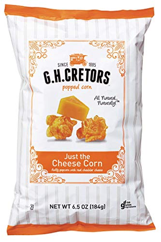 Review Of GH CRETORS POPCORN JUST CHEESE, 6.5 OZ