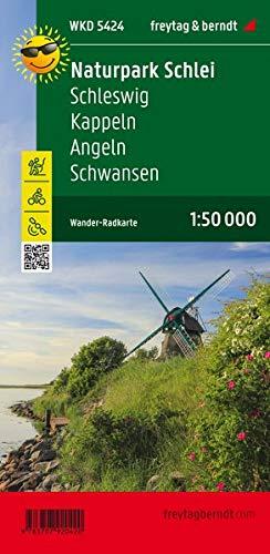 Schlei, Schleswig, Kappeln, Angeln, Wander + Radkarte 1:50.000 (freytag & berndt Wander-Rad-Freizeitkarten)