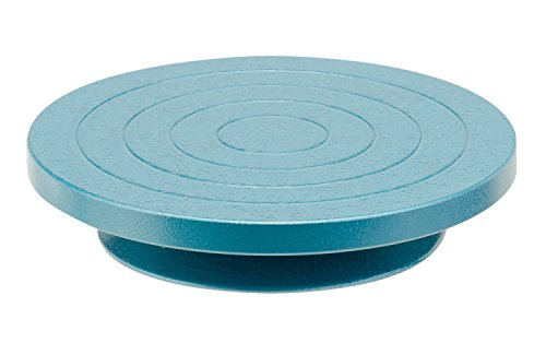 Glorex 2 2620 30 - Töpferscheibe / Tischränderscheibe, Durchmesser ca. 22 cm, hochwertig und stabil, präzise Kugellagerung für ruhigen Rundlauf