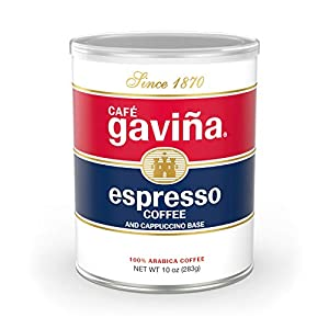 Gavina Regular Espresso Ground Coffee 10oz