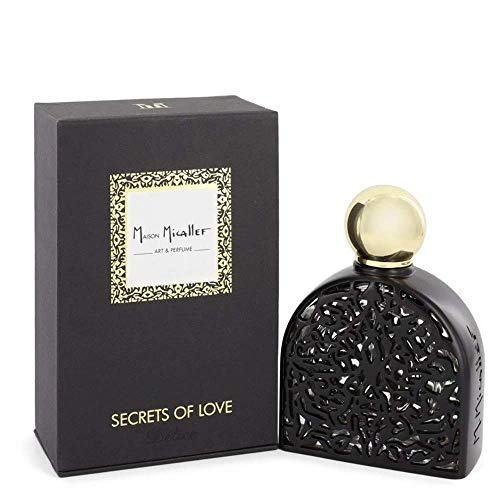 M MICALLEF Secrets of Love Délice Unisex Eau de Parfum, 75 ml