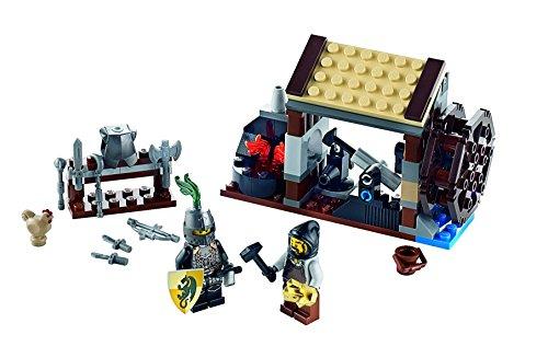 LEGO Kingdoms - 6918 - Jeu de Construction - L'Attaque du Forgeron