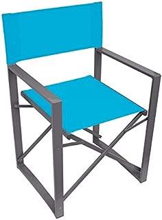 Yellowstone Vector Folding Directors Outdoor Chair for Camping/Garden | Blue