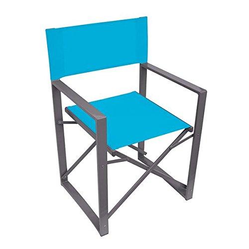 Yellowstone Vector Silla de Director, Plegable, Unisex, Vector Folding Director, Azul