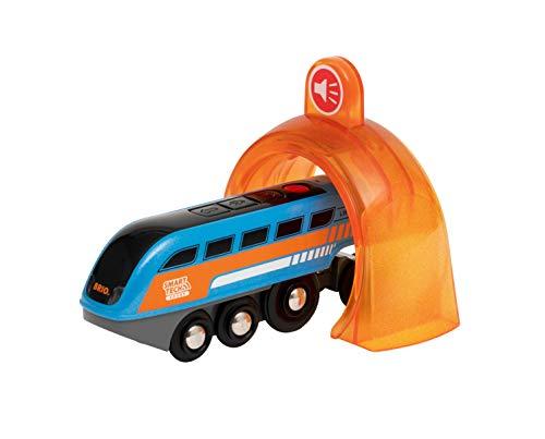 BRIO World Smart Tech Sound: motor de grabación y reproducción para niños de 3 años en adelante compatible con todos los juegos de trenes BRIO