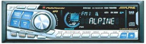 Alpine CDA 7894RB CD sintonizzatore