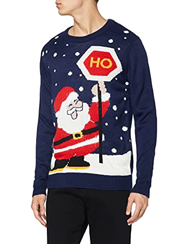 Un pull de Noël avec un Père Noël joyeux