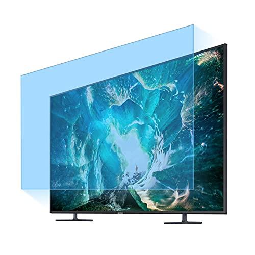 JHZDX Protector De Pantalla De TV Mate Antideslumbrante, Película Antirrayas/Luz Azul para Interiores/Exteriores, Alivia La Fatiga Ocular, para LCD LED OLED QLED 4K HDTV,55''(1221 * 689)