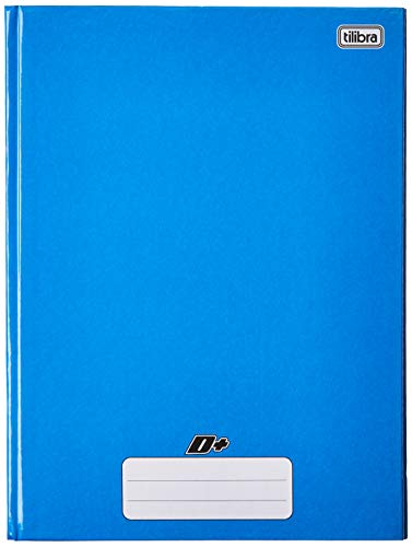 Caderno Brochura Capa Dura Universitário, Tilibra, D+, 48 Folhas, Azul
