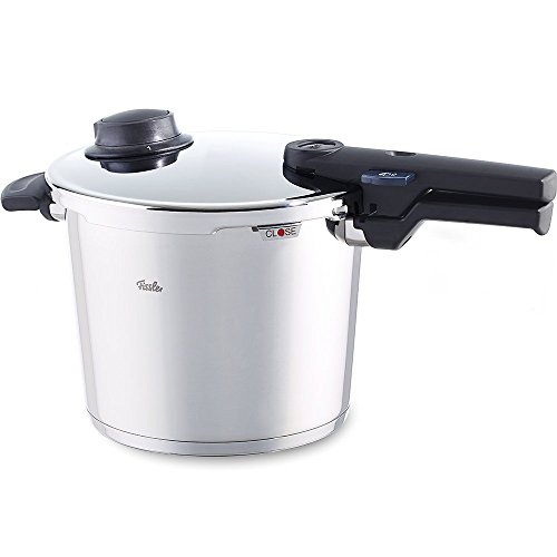 Fissler vitavit comfort Stainless Steel Pressure Cooker 300-06-000-0/0, 6 Litre Pressure Cooker 22 cm Diameter For Induction, Gas, Glass Ceramic, Electric Stoves