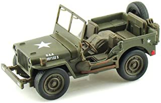 New Ray Jeep Willys 1:32 Scale Die Cast Model Car WW II Military US Army Vehicle by NewRay
