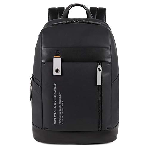 Piquadro Downtown Businessrucksack Leder 42 cm Laptopfach