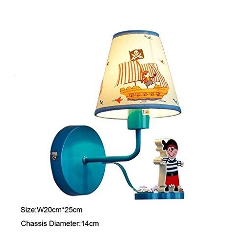 Uncle Sam LI-Garçons et filles, enfants de bande dessinée chambre chaude lampe de chevet murale