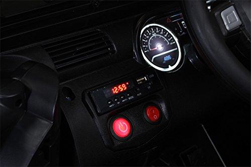 RC Auto kaufen Kinderauto Bild 5: Actionbikes Motors Kinder Elektroauto Offroad Jeep 2 x 35 Watt (Schwarz)*