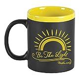 Lawenp Be The Light Yellow tazza da lavagna in gres da 11 once