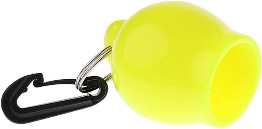 Color : Green meimeijia Conectar Buceo Esnorqueleo Bola Regulador Octopus Holder Boquilla Cubierta con el Clip Tenedor