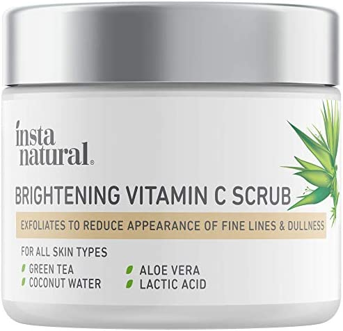 Brightening Vitamin C Face Scrub Natural Cleansing Exfoliator Blackhead Reducing Facial Mask product image