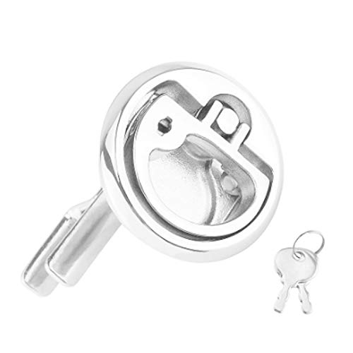 Fantastic Deal! Nologo Durable Marine Boat Stainless Steel Flush Hatch Lift - Locking Style Easy to ...