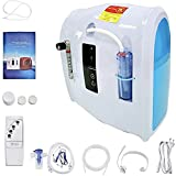Oxygen Concentrator; Household Oxygen Generator;Home Use Oxygen Machine; 1‑6 L/minute Adjustment(white&blue)