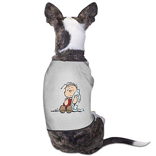 Cute Linus Van Pelt diseño mascota perro T camiseta.