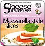 Sheese QUESO MOZARELLA EN LONCHAS 200g (VEGANO) Pack de 3