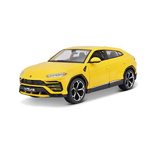 Bauer Spielwaren Maisto Lamborghini Urus 531519Y Voiture Miniature à l'échelle 1/24 Portes ouvrantes 20 cm Jaune