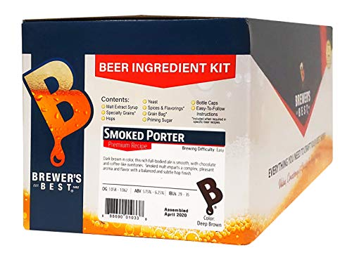Brewer's Best - Home Brew Beer Ingredient Kit (5 gallon), (Smoked Porter)