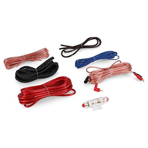 auna Set de Cables (chapados en Oro, HiFi, para radios y Audio Dentro...