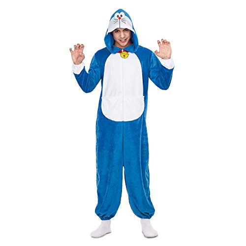 Doraemon Disfraz Pijama Adultos