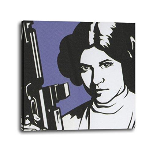 Cuadro Star Wars Princesa Leia Pop Art (25x25, 2)