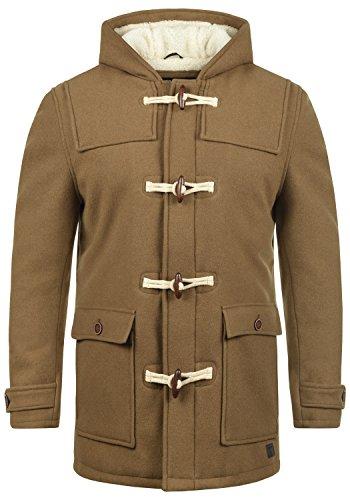 INDICODE Columbia - Abrigo Chaqueta para Hombre, tamaño:XXL, color:Camel (005)