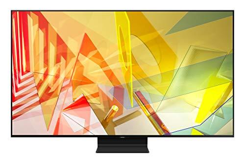 Samsung TV QE55Q90TATXZT Smart TV 55' Serie Q90T QLED, Ultra HD 4K, Wi-Fi, Classe di Efficienza Energetica B, 2020, Silver