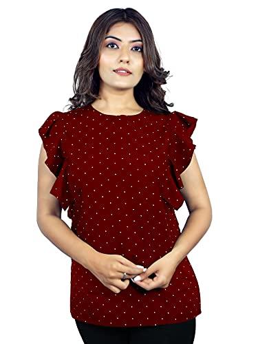 TWIFFY New Shoulder Style Western Regular wear Women Top