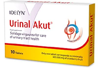 Urinal Akut 10 tab Normal Urinary Tract Function HERBAL, cranberry extract