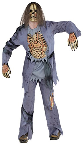 amscan - 844188-55 - Déguisement Halloween - Homme - Zombie - Taille XL