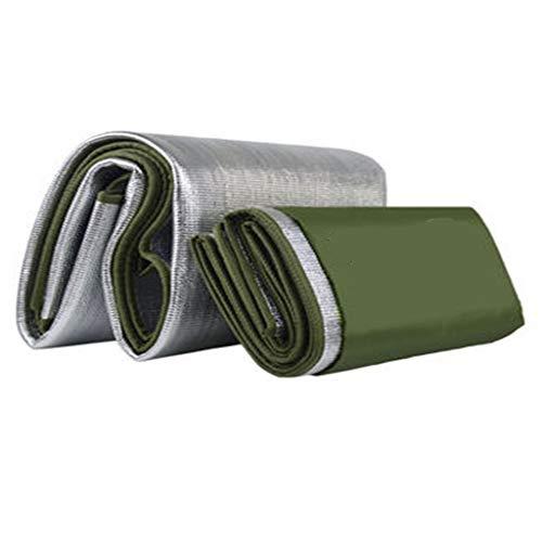W.P. Feuchtigkeitsfeste Pad Verdickung Outdoor tragbare wasserdichte Gras Picknick Home Zelt Aluminiumfolie einzigen Schlafsaal Isomatte, 9 mm dick 200 * 100cm