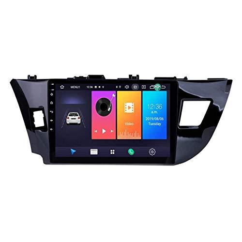 WHL.HH Radio Estéreo Auto Multimedia GPS Navegación Androide 10.0 para Toyo ta Levin 2013-2015 Doble DIN 6.2' Auto Auto Jugar / 4G WiFi/Dab/SWC
