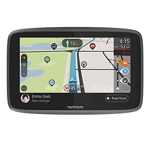 TomTom GO Camper Sat Nav, 6 Inch with Updates Via Wi-Fi, Camper and Caravan POIs, Worldwide Lifetime Maps, TomTom Road Trips