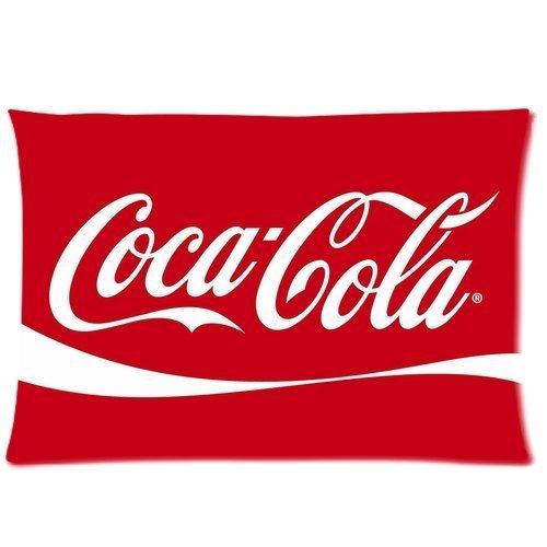 Coca Cola Custom Zippered Pillow Cases 20 x 30 (Twin sides) Taie d'oreiller Taie d'oreiller coton Design par Générique