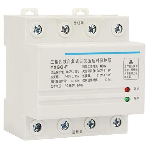 Relé protector de voltaje, Yxgq-F 80A Protector de relé automático de sobre...