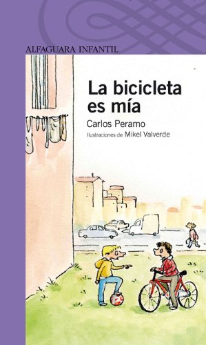 La bicicleta es mía (Serie morada)