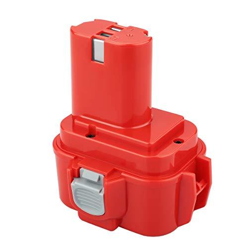 POWER-XWT 9,6V 3000mAh NiMH Batería de Repuesto para Makita PA09 9120 9122 9134 9135 9135A 9100A 9101A 9102 638344-4-2