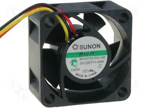 40 x 20 mm MB40201V1 ventilador Sunon - G99 DC 12 V 7200 U/min 26dBA Vapolager 3 filamentos