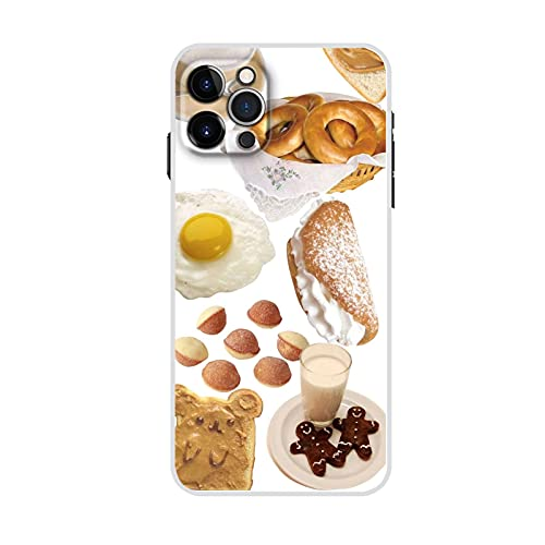 Shells Plastic Have with Delicious Food Compatible with Best Battery Case for iPhone 12 Mini for Guy Original