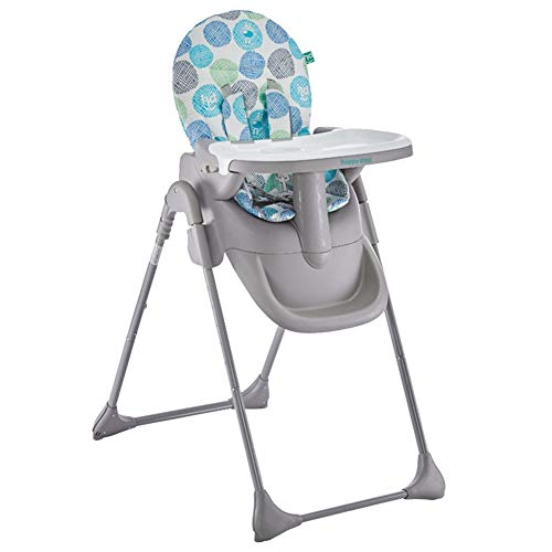 Affordable LXLA - Height Adjustable High Chair, Fold Booster Feeding Seat, with 5-Point Harness & Wa...