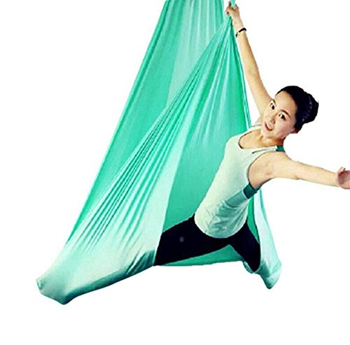 FLY FLU Amaca Yoga Antigravity, Yoga Amaca Antenna Yoga Volo Altalena Cintura Antenna Elastica Flip Sling Amaca Antigravità Girare Yoga Fitness Altalena,D